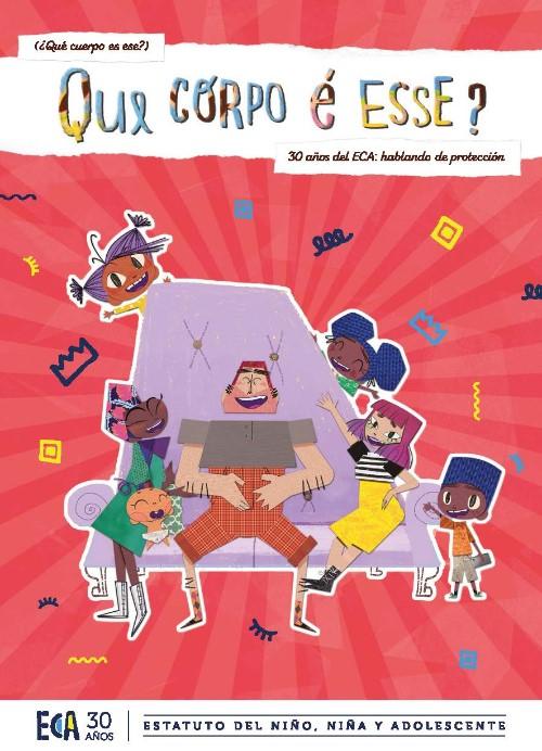 capa do material: Gibi ECA 30 anos - Versão Espanhol