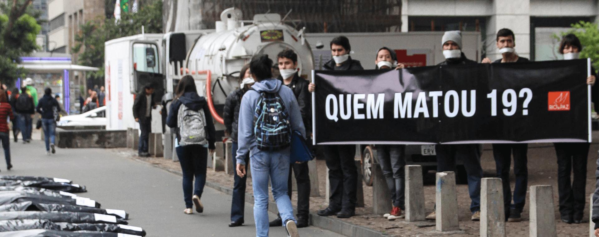Mortes de Ativistas