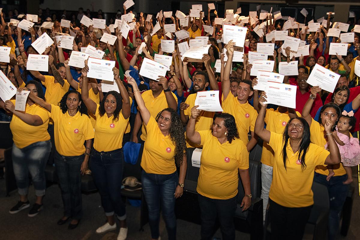 Formatura de 432 estudantes da Escola da Fundação Roberto Marinho