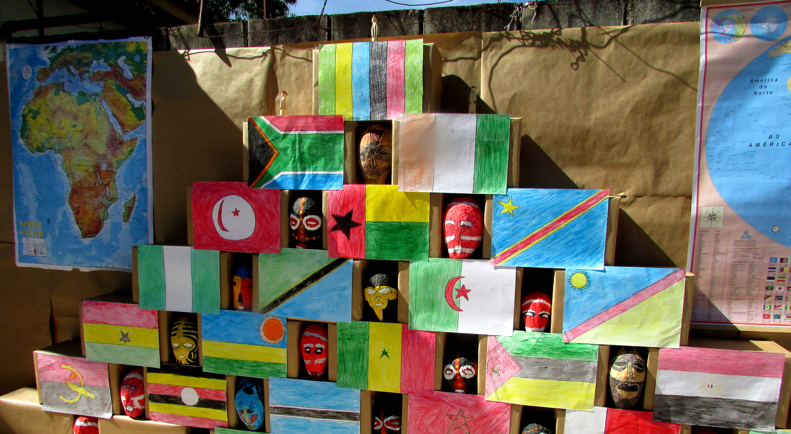 Viajando pela cultura africana