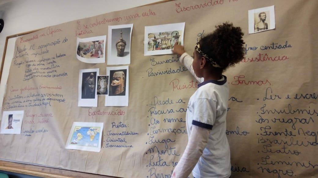 Cultura afrobrasileira nas escolas