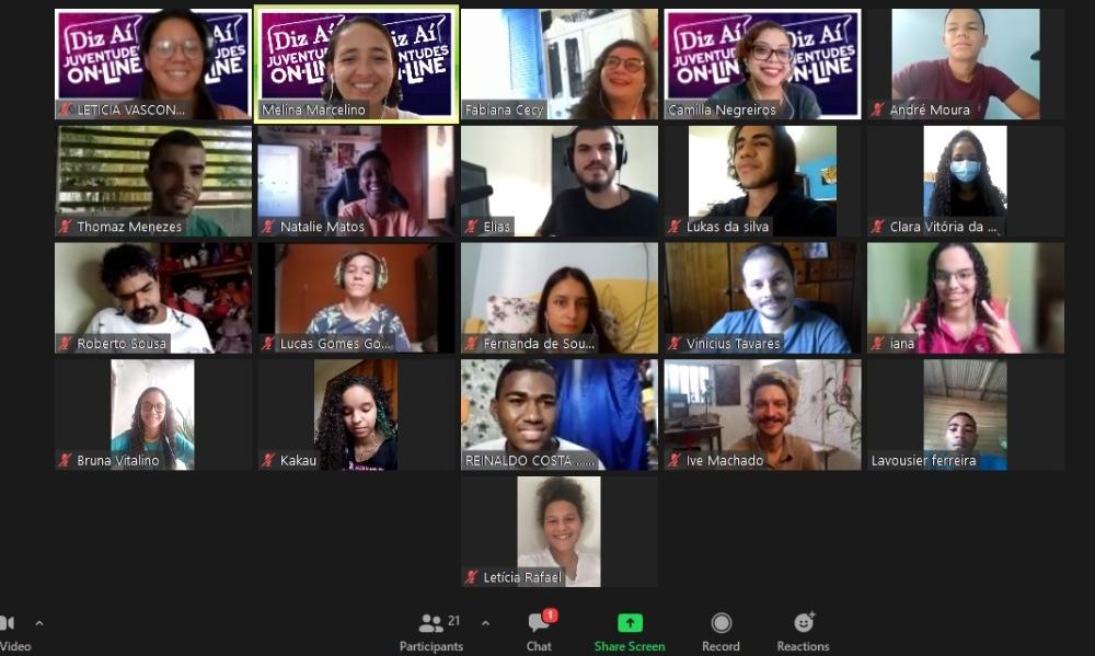 Diz Aí Juventudes Online